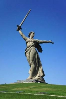Mutter Russland Statue
