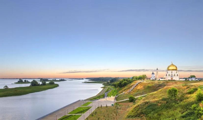 Sehenswürdigkeiten in Kasan: Insel Groß Bolgar