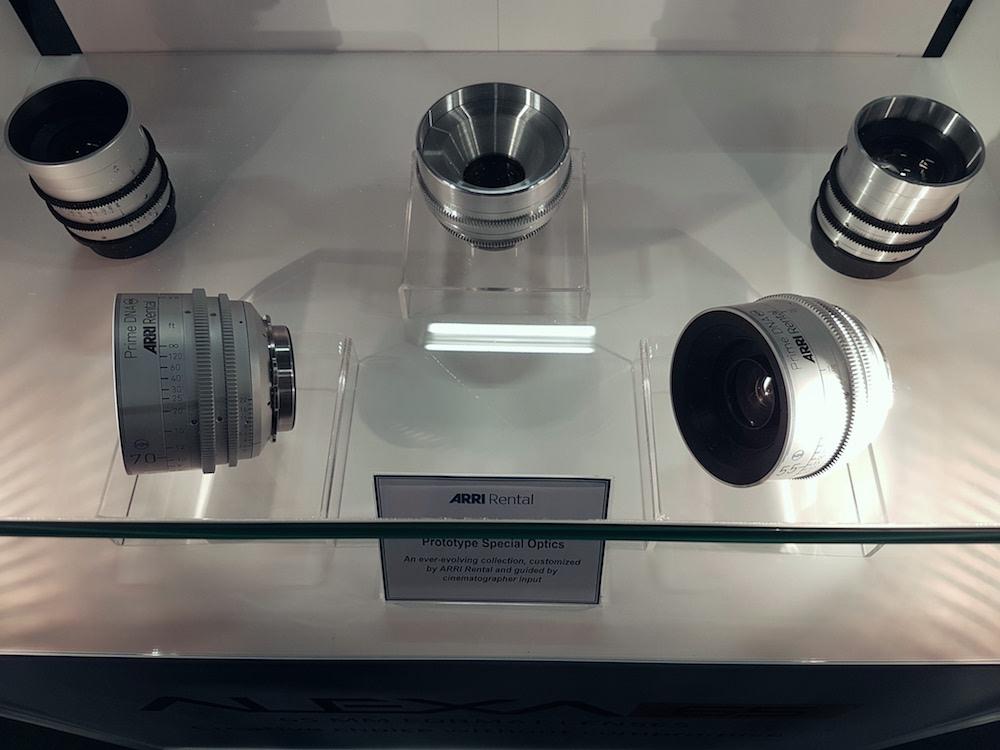 BSC Expo 2017 - Arri Prime DNA lenses