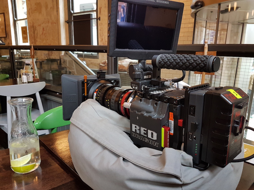 Red Epic Dragon and Pag PL96e Battery