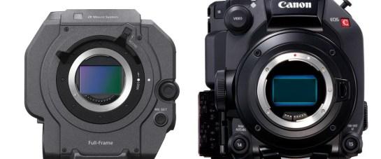 Canon C500 Mark II vs Sony FX9