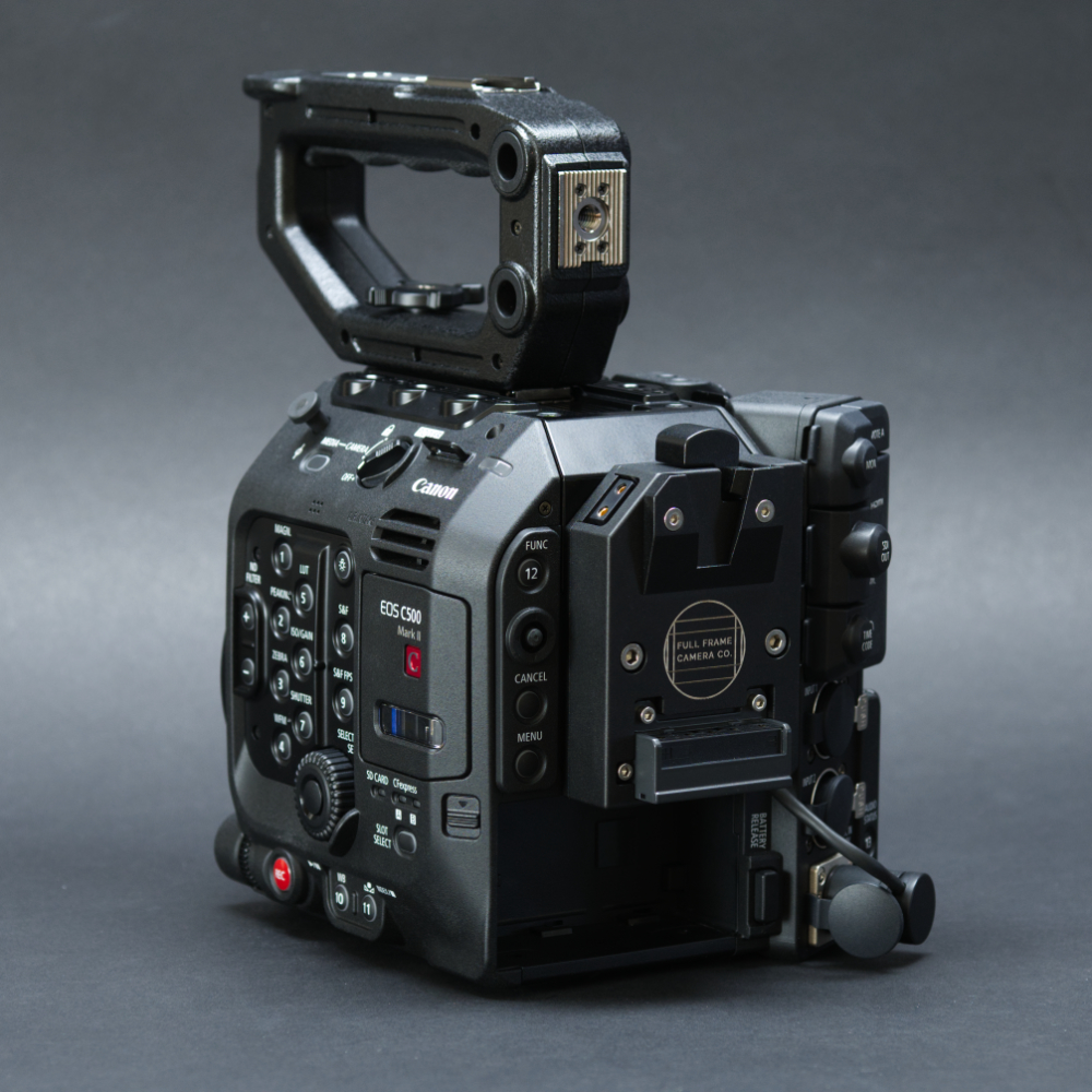 V-Mount plate for C300mkIII/C300mkIII