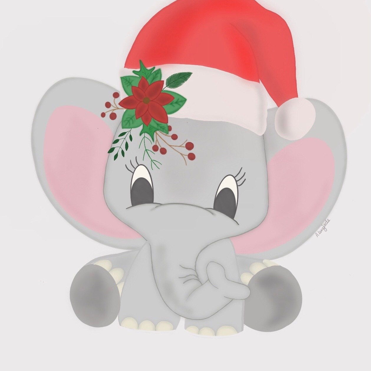 festive digital drawings