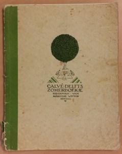 Calvé-Delft's zomerboekje