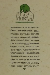 Binnenzijde omslag: olifantenolie