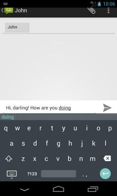teclado de android l - 4