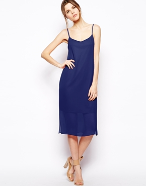 Asos midi cami dress