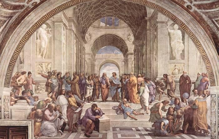 Raffael - Schule von Athen (Wikipedia)