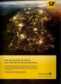 Deutsche Post Anzeige Einheit