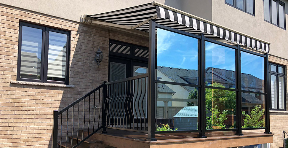 retractable patio awnings shade