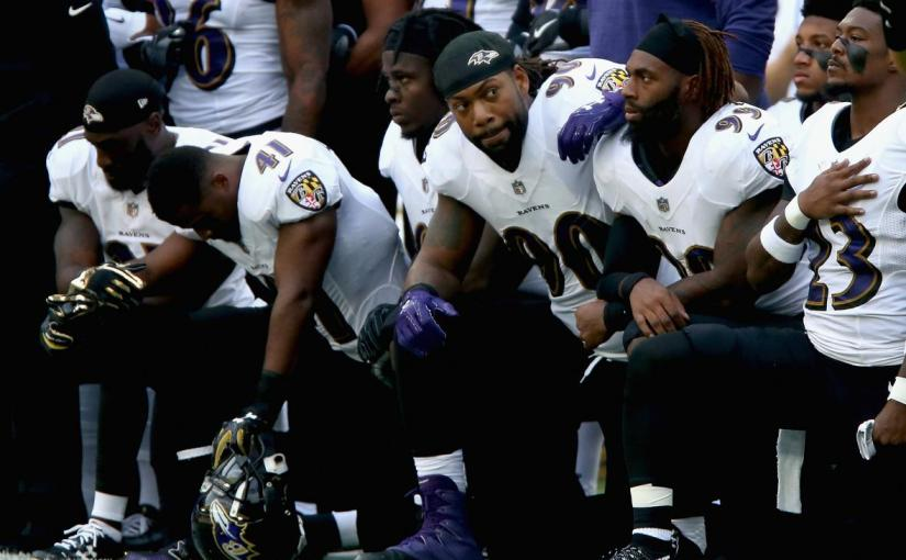 The Field and the Knee: Trump, Football and the Eschaton