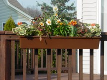 Install Hanging Deck Box Spring And Summer