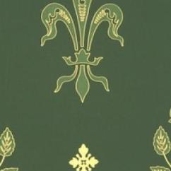 Green Dining Chairs Uk Swivel Chair Mercedes Sprinter Watts Of Westminster Rose & Fleur De Lys Wallpaper Alexander Interiors,designer Fabric ...