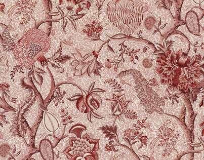 reupholstering sofas vintage sleeper sofa buy braquenie le grand corail camaieux-toile de jouy ...