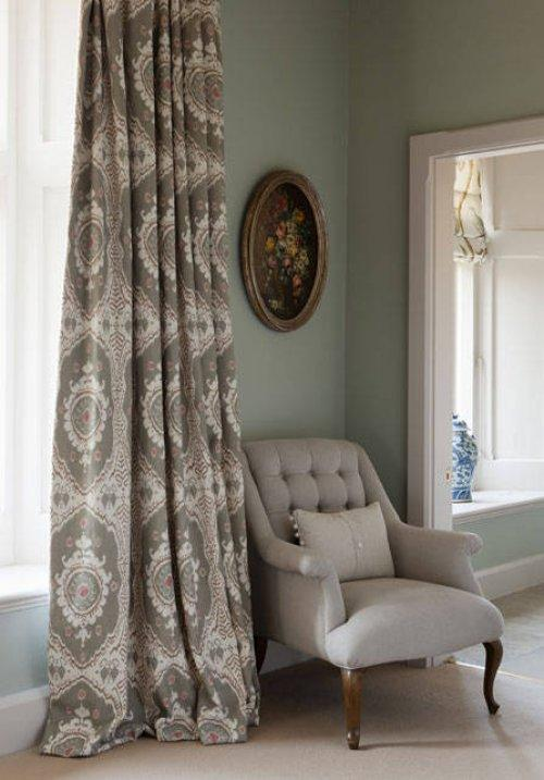 Buy Lewis  Wood Bukhara Fabric online Alexander Interiors