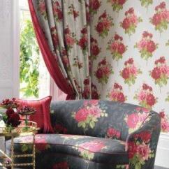 White Sofa Fabric Bean Bag Buy Nina Campbell Paradiso Rose Alba Online ...