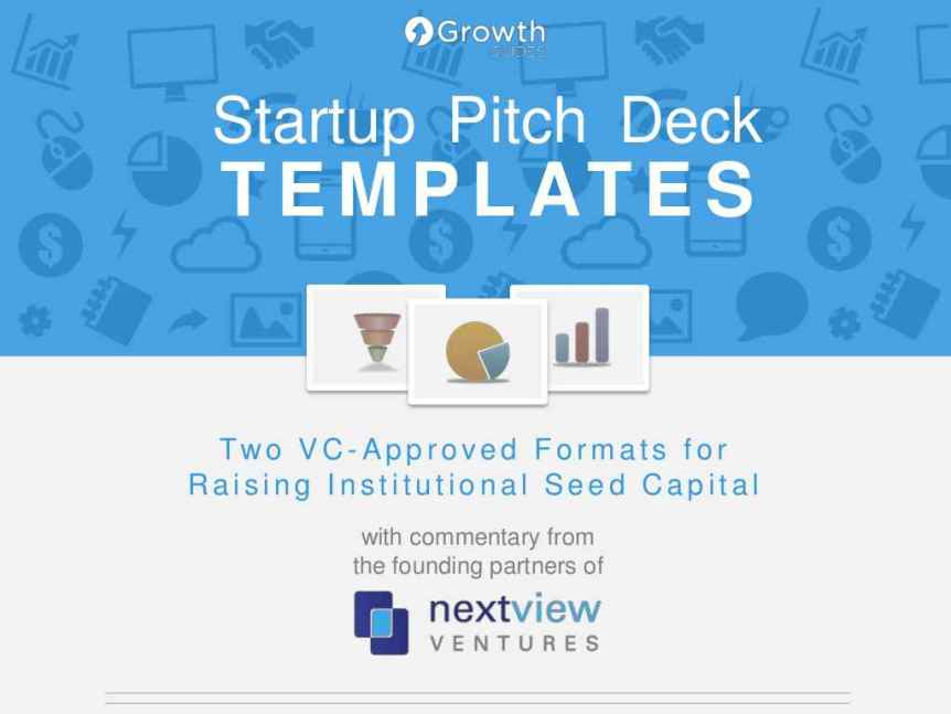 nextview seed stage pitch deck