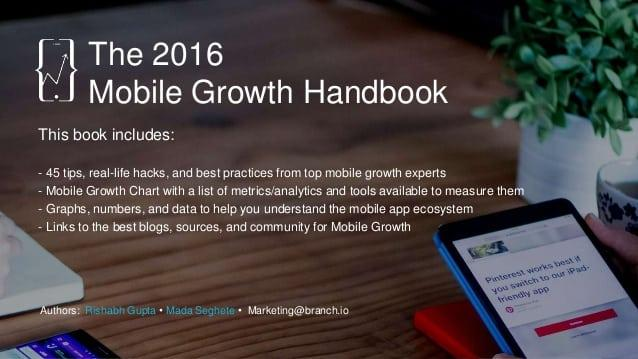 Mobile growth handbook 2016