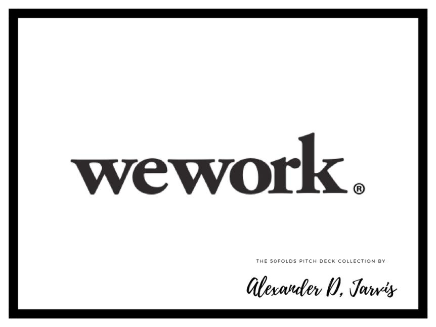 wework pitch deck
