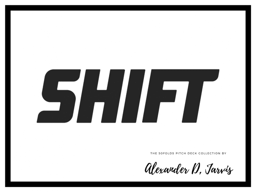 Shift pitch deck to raise series-B capital investment