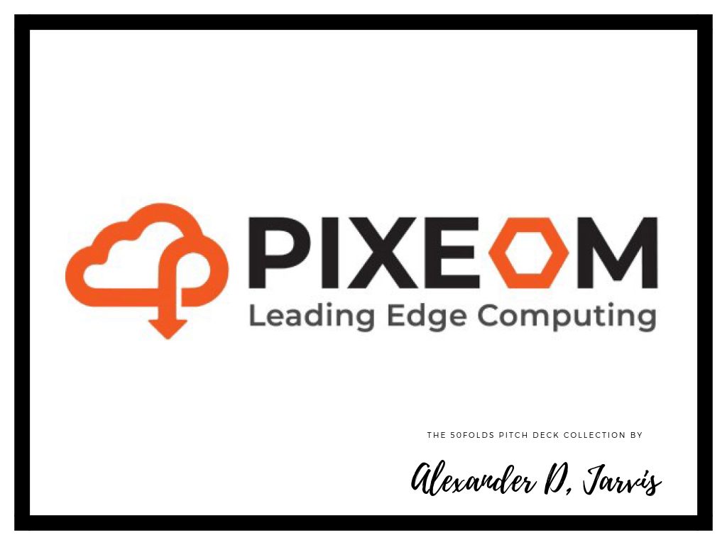 Pixeom pitch deck to raise $15m series-a