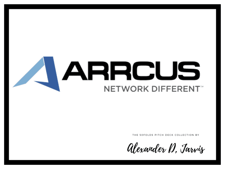 Arrcus Pitch Deck to Raise a $30m Series B
