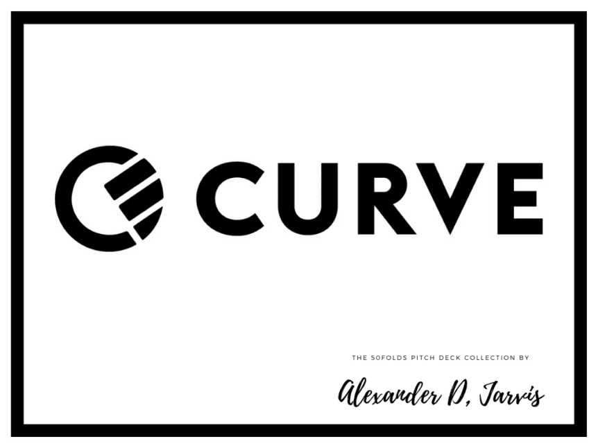 Curve Pitch Deck to Raise a $55m Series B