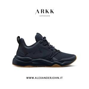 ARKK COPENHAGEN UOMO | ASYMTRIX MESH F-PRO90 BLACK NERO GUM-MEN