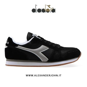 DIADORA UOMO | SIMPLE RUN CAMOSCIO NERO
