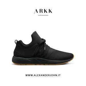 ARKK COPENHAGEN UOMO | RAVEN NUBUCK BLACK NERO S-E15 GUM-MEN