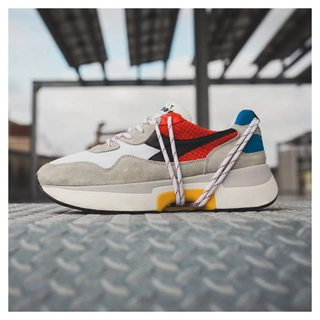 DIADORA HERITAGE - N9000 TXS H MESH CAYENNE RED BIANCO ROSSO BLUE