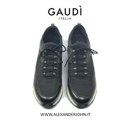 GAUDI UOMO - V91-66532 PELLE NERO 4