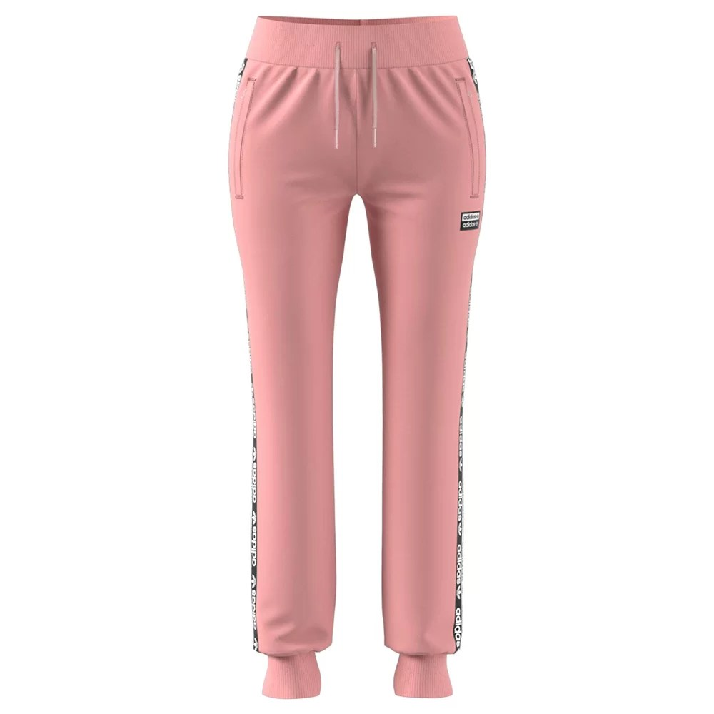 pantaloni tuta rosa adidas