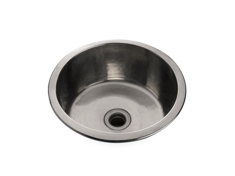 waterworks kitchen faucets outdoor kitchens normandy hammered round bar sink | alexander ...