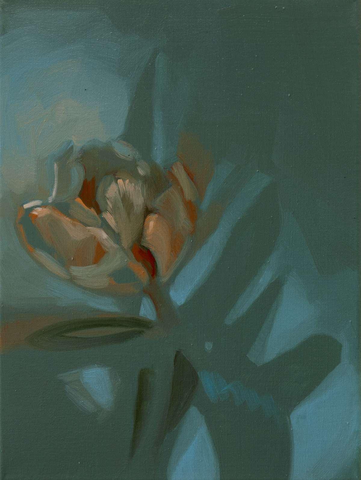 Bianca Regl, Innocent Forms (Tulips) / Azure, 2019