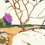 Per Adolfsen – Tree at the Beach – 2020