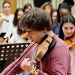 Alexander Rybak gave masterclass at Metropolitana School of Music in Lisbon on May 7th 2018