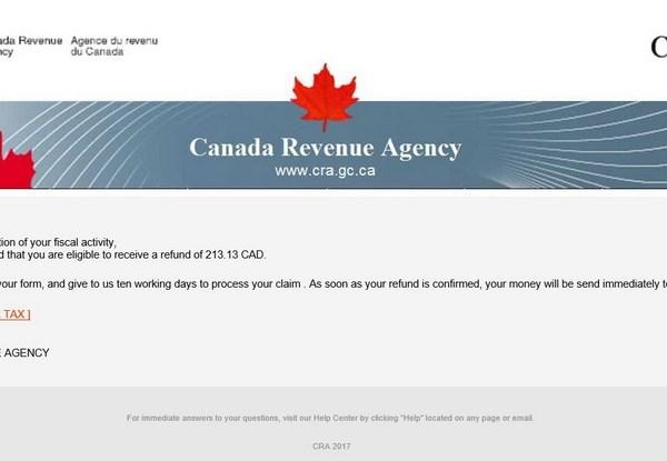 Мне пришёл е-мейл, как будто из налоговой.