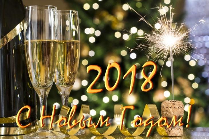 С Новым 2018 Годом !