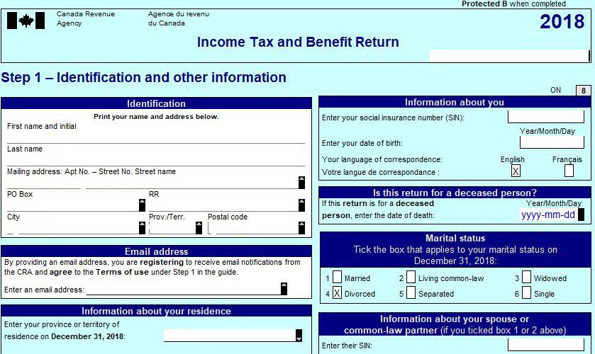 Персональные налоги в Канаде