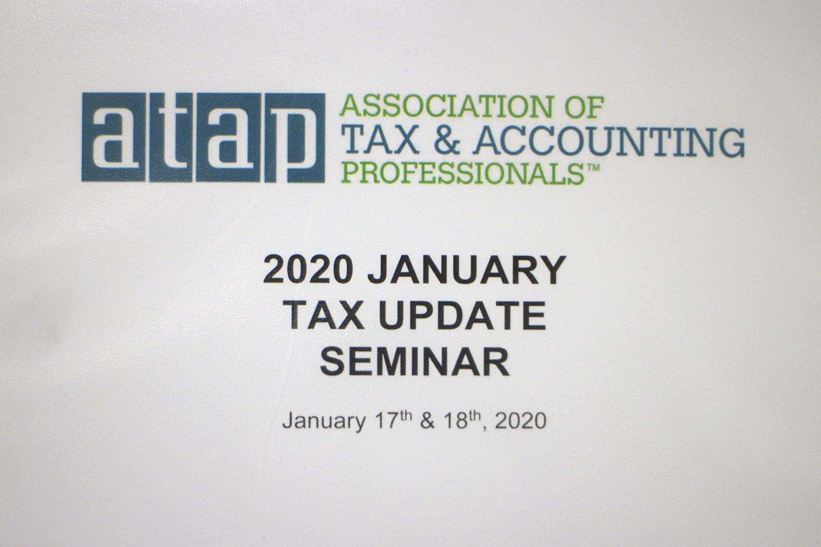 17-18 января состоялся семинар об изменениях в налоговой декларации