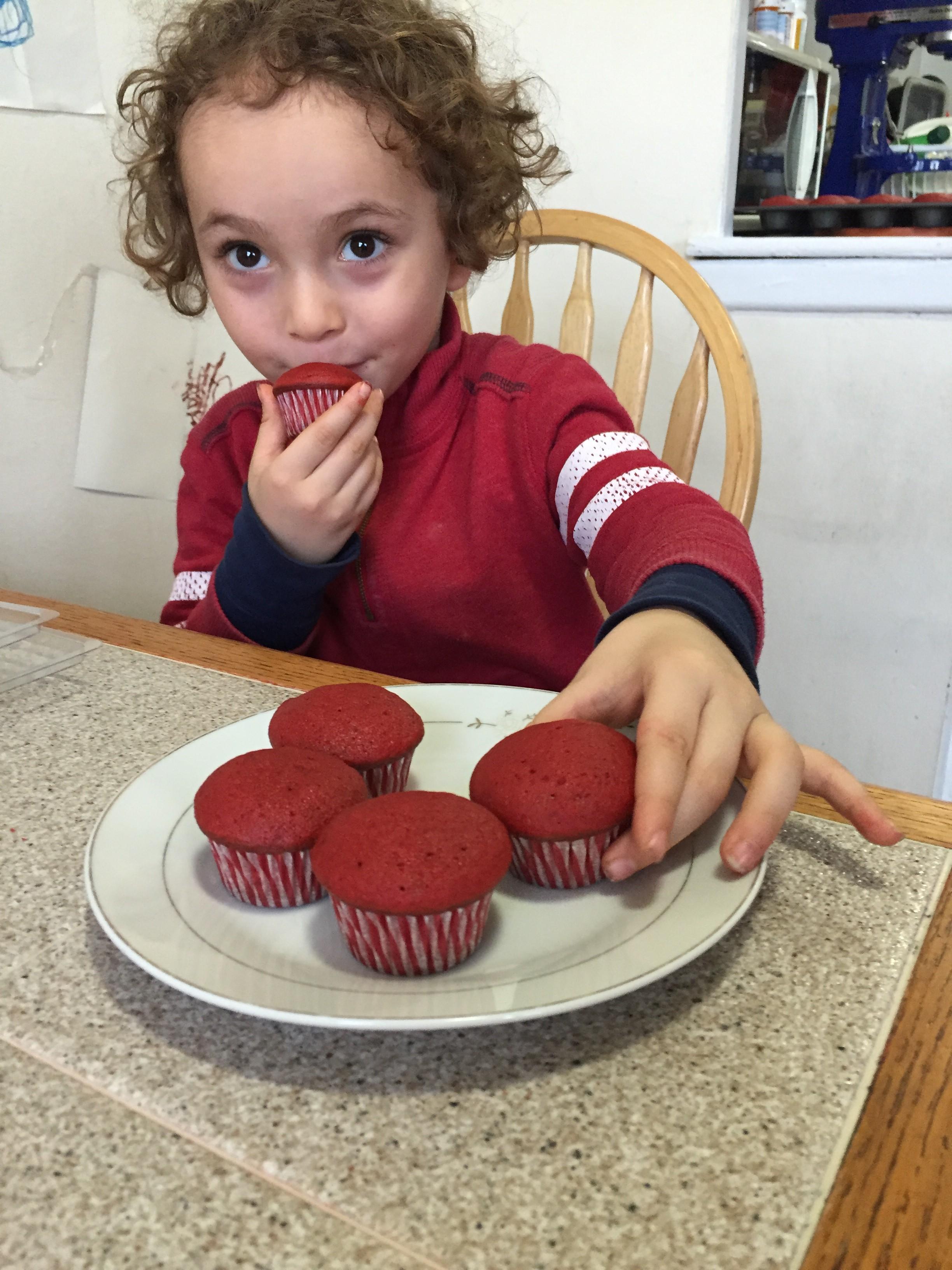 Red Velvet Mini Cupcakes Recipe