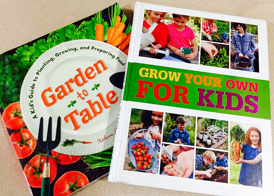 Two Terrific Books for Children on Gardening and Cooking recommended by Alexandersmom.com