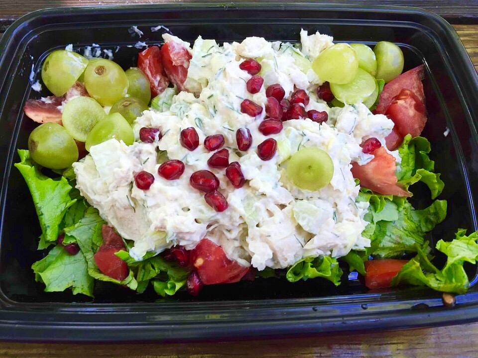 Left-Over Rotisserie Chicken Salad