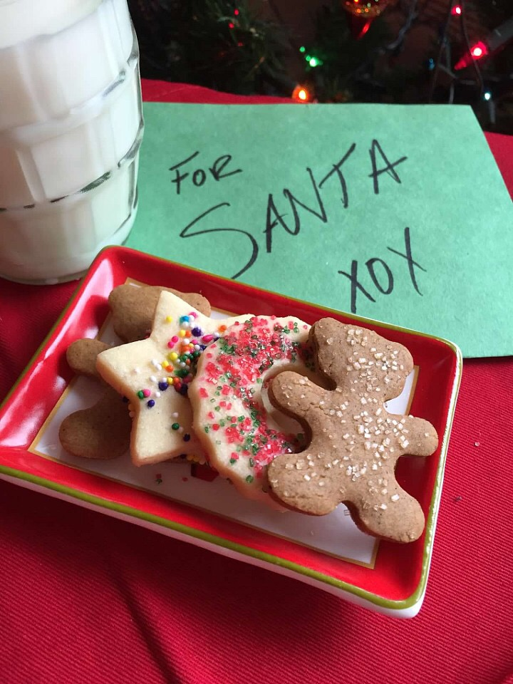 Low Sugar Snappy Gingerbread Cookies from Alexandersmom.com