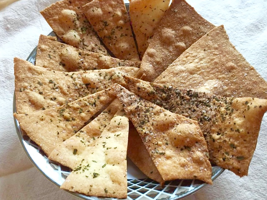 Olive Oil Herb Crackers from Alexandersmom.com
