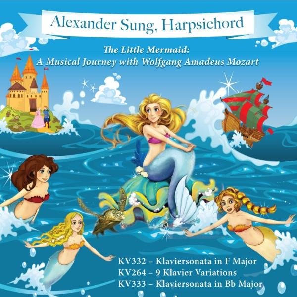 The Little Mermaid - Mozart Harpsichord