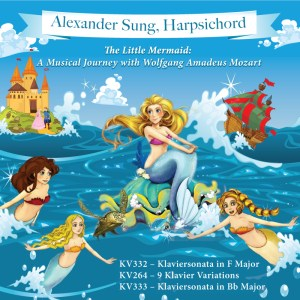 The Little Mermaid - Mozart Harpsichord