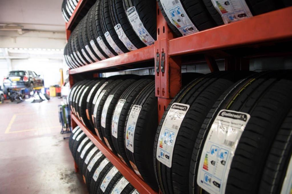 Commercial Product photo showing tyres