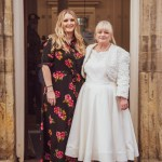 Bride and Maid of honour at Horsham Registry Office